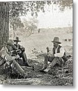 Texas: Cowboys, C1908 Metal Print