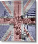 Thames Barges Tower Bridge 2012 Metal Print