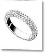 The Beauty Wedding Ring Metal Print