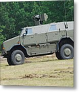 The Dingo 2 In Use By The Belgian Army Metal Print