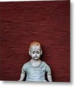 The Doll Metal Print