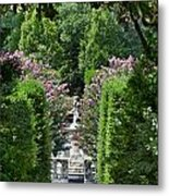 The Elizabethan Gardens Metal Print