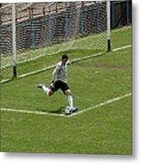 The Goalkeeper  Metal Print
