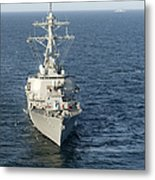 The Guided-missile Destroyer Uss Laboon Metal Print