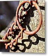 The Key Metal Print