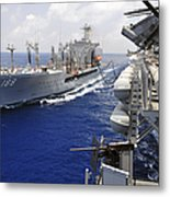 The Military Sealift Command Fleet Metal Print
