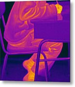 Thermography Metal Print