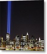 Tribute In Light 2010 Metal Print by Christopher Kirby