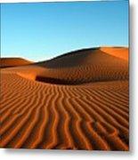 Ubari Sand Sea, Libya Metal Print