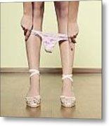 Underpants Metal Print by Joana Kruse