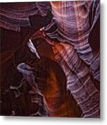 Upper Antelope Canyon, Arizona Metal Print