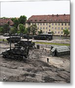 U.s. Soldiers Teach The Polish Military Metal Print