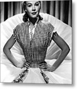 Vera-ellen, Ca. Early 1950s Metal Print by Everett