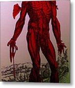 Vesalius De Humani Corporis Fabrica Metal Print by Science Source