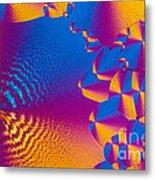 Vitamin H Crystal Metal Print