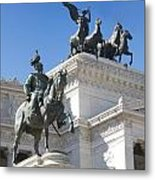 Vittoriano. Monument To Victor Emmanuel II. Rome Metal Print
