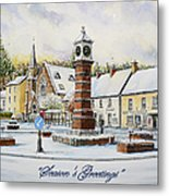Winter In Twyn Square Metal Print