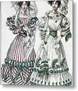 Womens Fashion, 1828 Metal Print