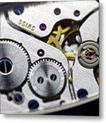 Wrist Watch Interior Metal Print by Pasieka