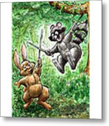 20 - Jennings State Forest - Sword Play Metal Print