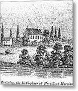 William Henry Harrison Metal Print