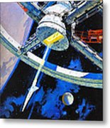 2001 A Space Odyssey, Aka 2001 Una Metal Print by Everett