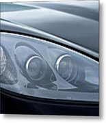 2002 Chevrolet Corvette Head Light Metal Print