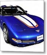 2004 Chevrolet Corvette C5 Metal Print