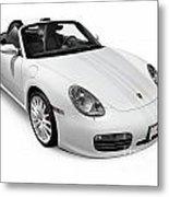 2008 Porsche Boxster S Sports Car Metal Print