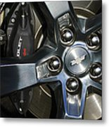 2011 Chevrolet Camaro Wheel Metal Print