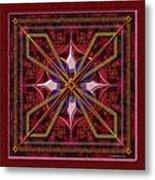 20110730-squares-of-strokes-v6a Metal Print