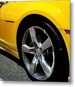 2012 Chevrolet Camaro Right Abstract Metal Print