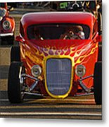 2012 Grants Pass Cruise - Hot Rod Rules Metal Print