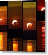 2012 Solar Eclipse Metal Print by Elizabeth Hart