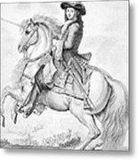Louis Xiv (1638-1715) Metal Print