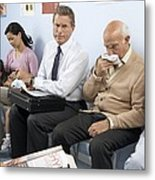 General Practice Waiting Room Metal Print