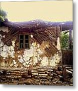 230 Years Old House Metal Print by Romeo Popescu