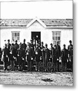 Civil War: Black Troops Metal Print