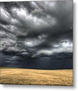 Storm Clouds Saskatchewan Metal Print