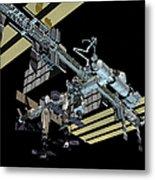 Computer Generated View Metal Print by Stocktrek Images
