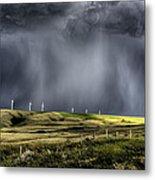 Storm Clouds Saskatchewan Metal Print
