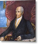 John Quincy Adams Metal Print