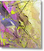 2nd  Symphony Of The Voyage Of The Stars  Metal Print