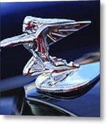 1935 Packard Hood Ornament Metal Print