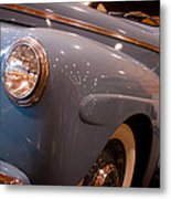 1942 Ford Deluxe 2-door Club Coupe Metal Print