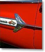 1960 Chevy Impala Convertable Metal Print