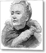 Amelia A. B. Edwards Metal Print