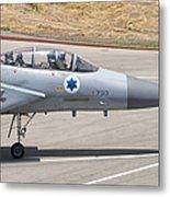 An F-15d Eagle Baz Aircraft Metal Print
