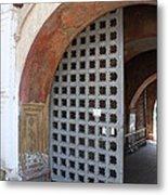 Ancient Gate Metal Print