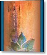 Ancient Lotus Metal Print by Wendy Wiese